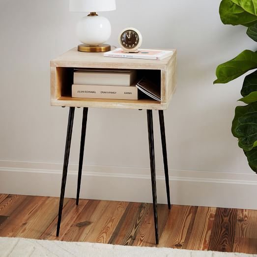 Letterbox Nightstand west elm Bedroom