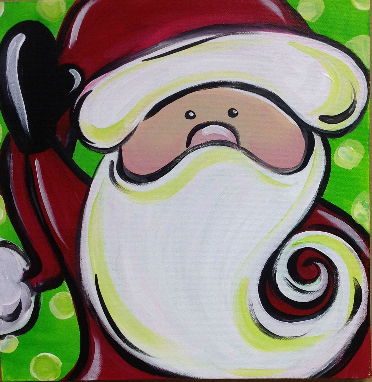 Easy Christmas Paintings For Kids Join Us For Another