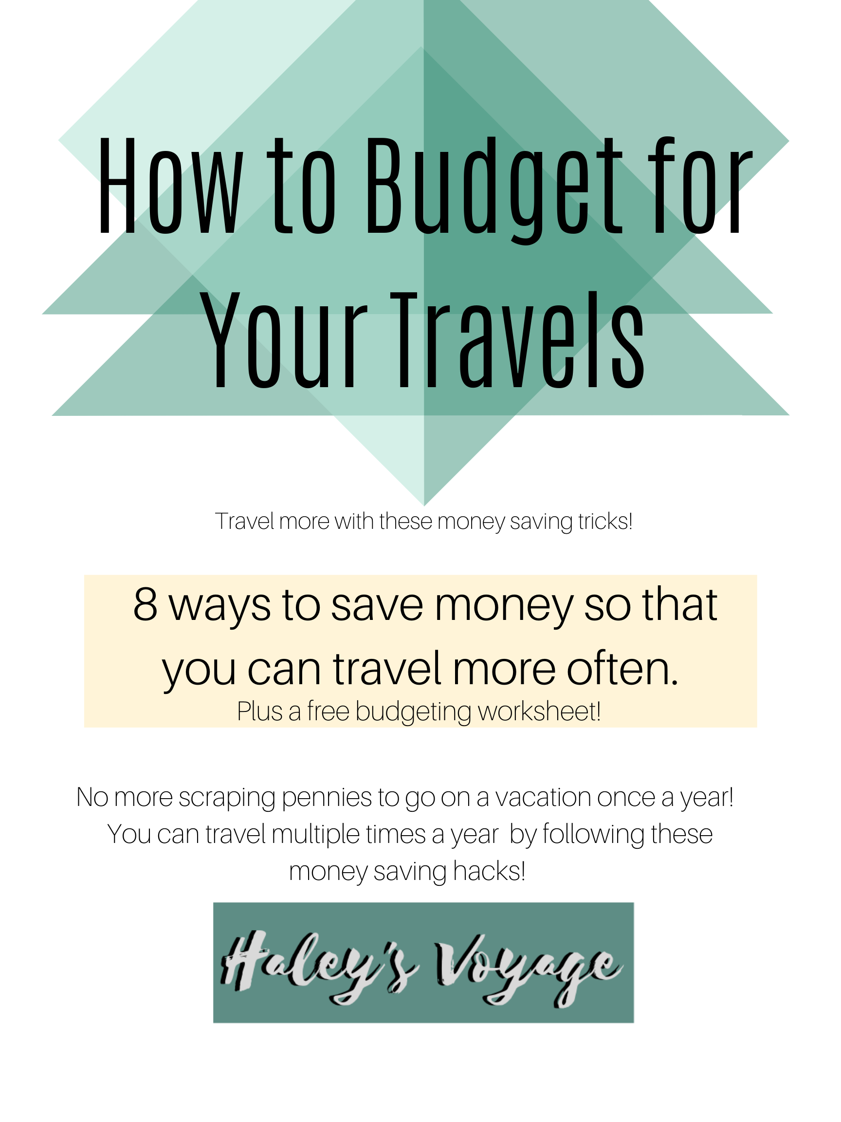 Budget To Travel