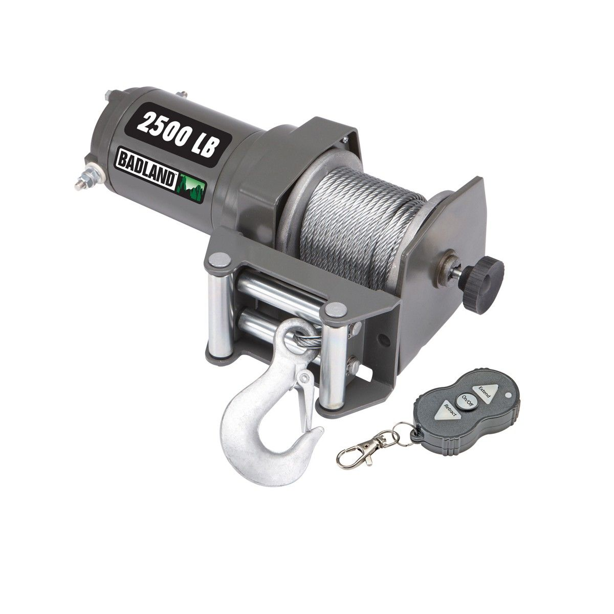 2500 Lbs  ATV/Utility Electric Winch with Wireless Remote