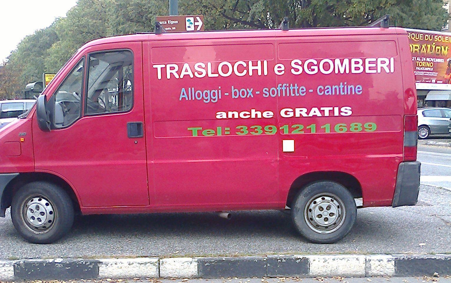 sgombero cantine tel. 3391211689