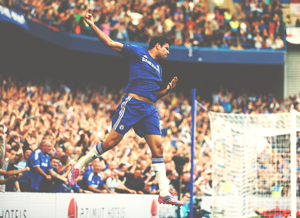 Diego Costa vs Leicester