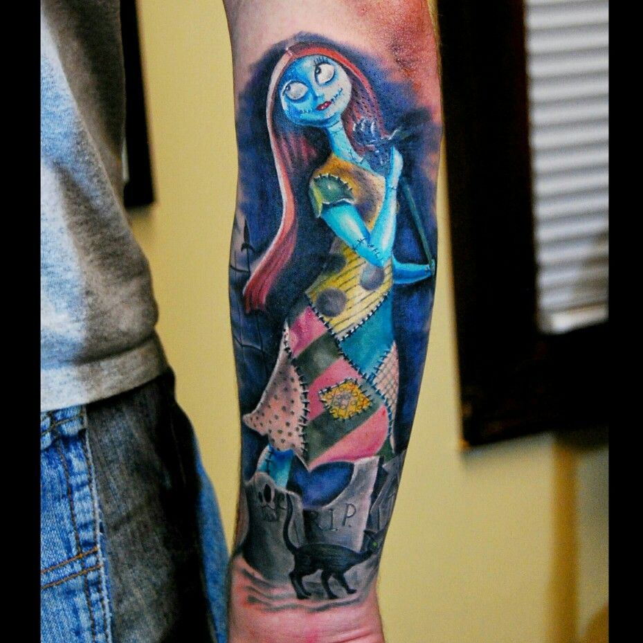 Sally The Nightmare Before Christmas tattoo | Studio 31 tattoos ...