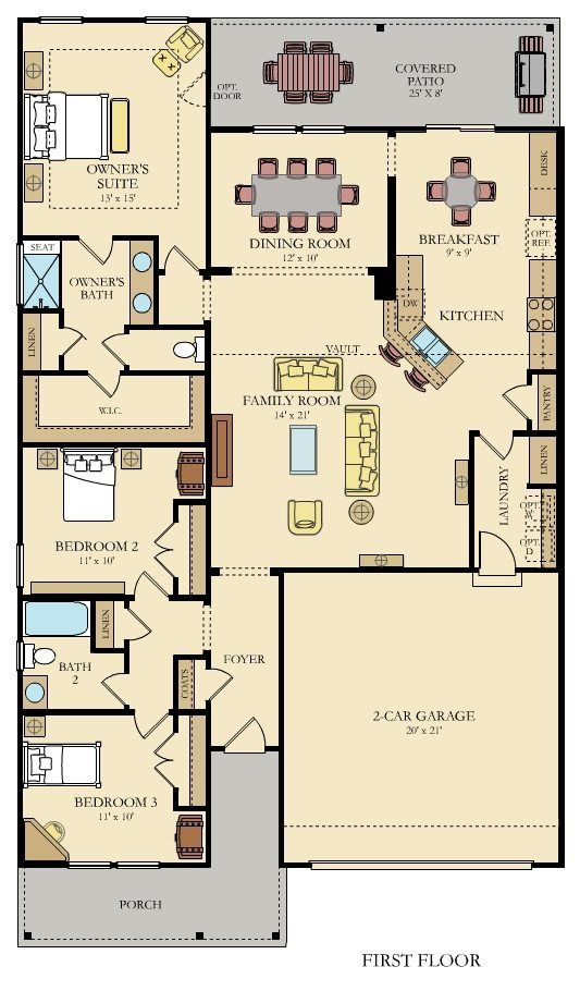 Jarvis New Home Plan In Coosaw Preserve Arbor Collection New House Plans Affordable House Plans House Map