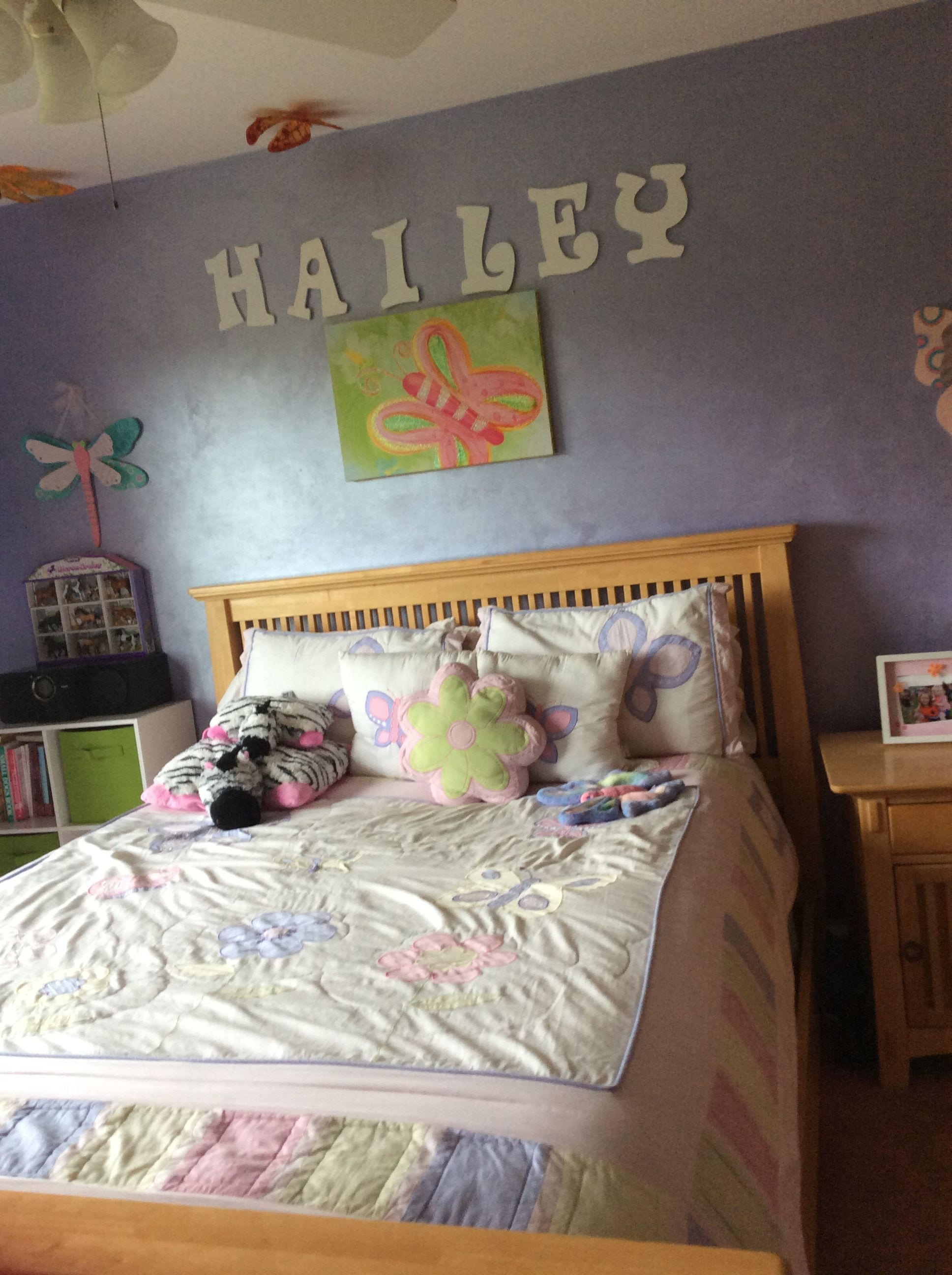 Butterfly girls room ideas