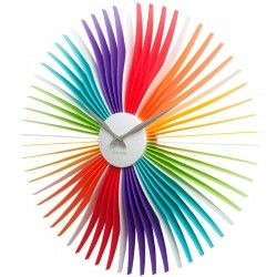 Karlsson Oopsy Daisy Clock - multi-coloured wall clock