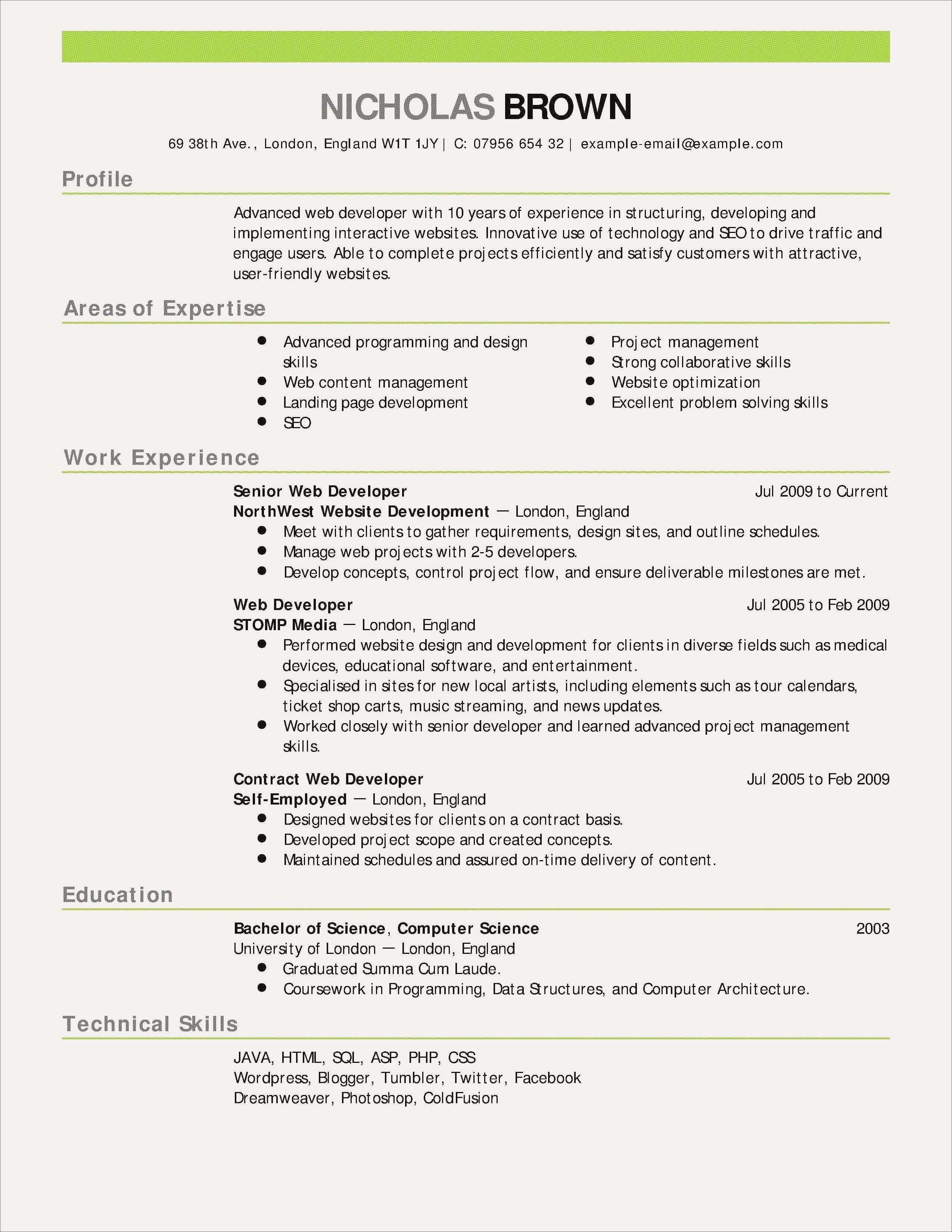 Sample Resume For Java Developer Fresher Inspirational Elegant Java Developer Fresher Resume Atclgrain Sample Teaching Resume Job Resume Examples Resume Skills