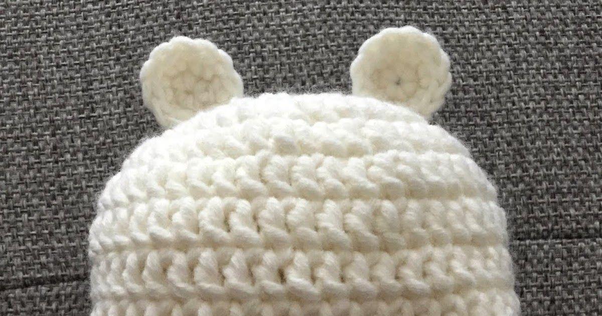 Häkelanleitung Baby Bären Mütze | Häkeln | Pinterest | Baby bär ...