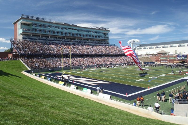 Infocision Stadium Akron University Football Actually Went There For A Band Contest The University Of Akron University Of Akron Football Stadiums