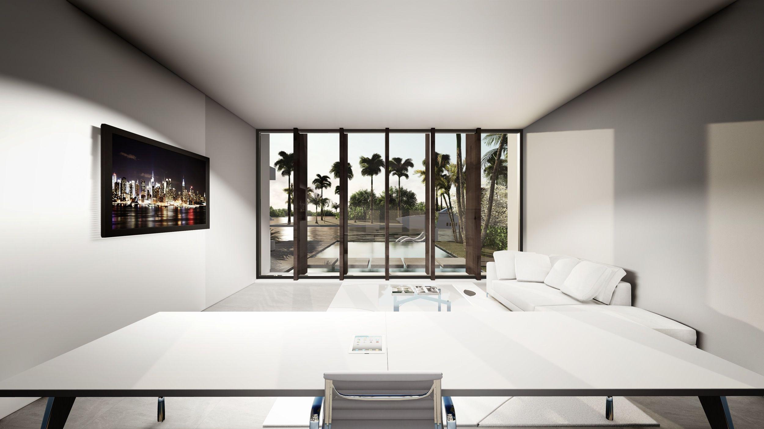 Tradewinds Interior Home Office Modern Design By KoDA Miami Tradewinds  Sunlight Projection Modern Design By KoDA Miami #officeinspiration #miami #  ...