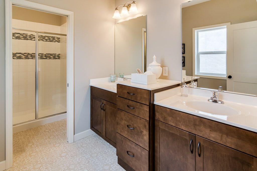 Master Bathroom with dual vanity. | New homes, Vanity ...