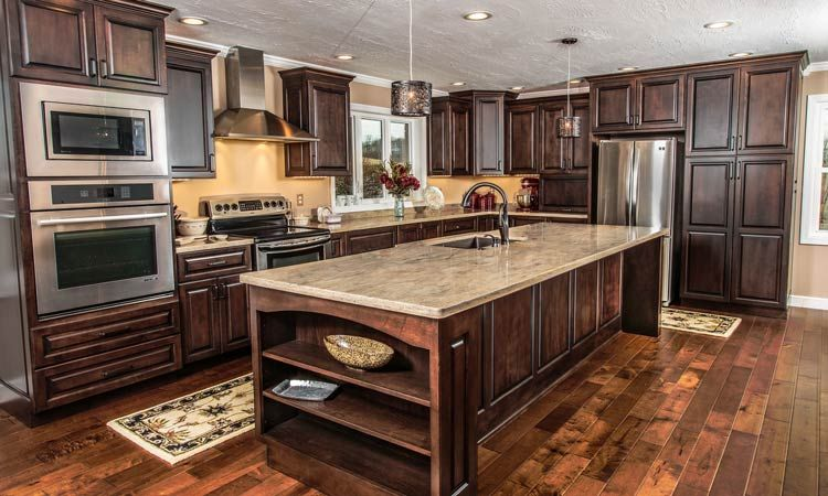 amish made custom kitchen cabinets schlabach wood design Home