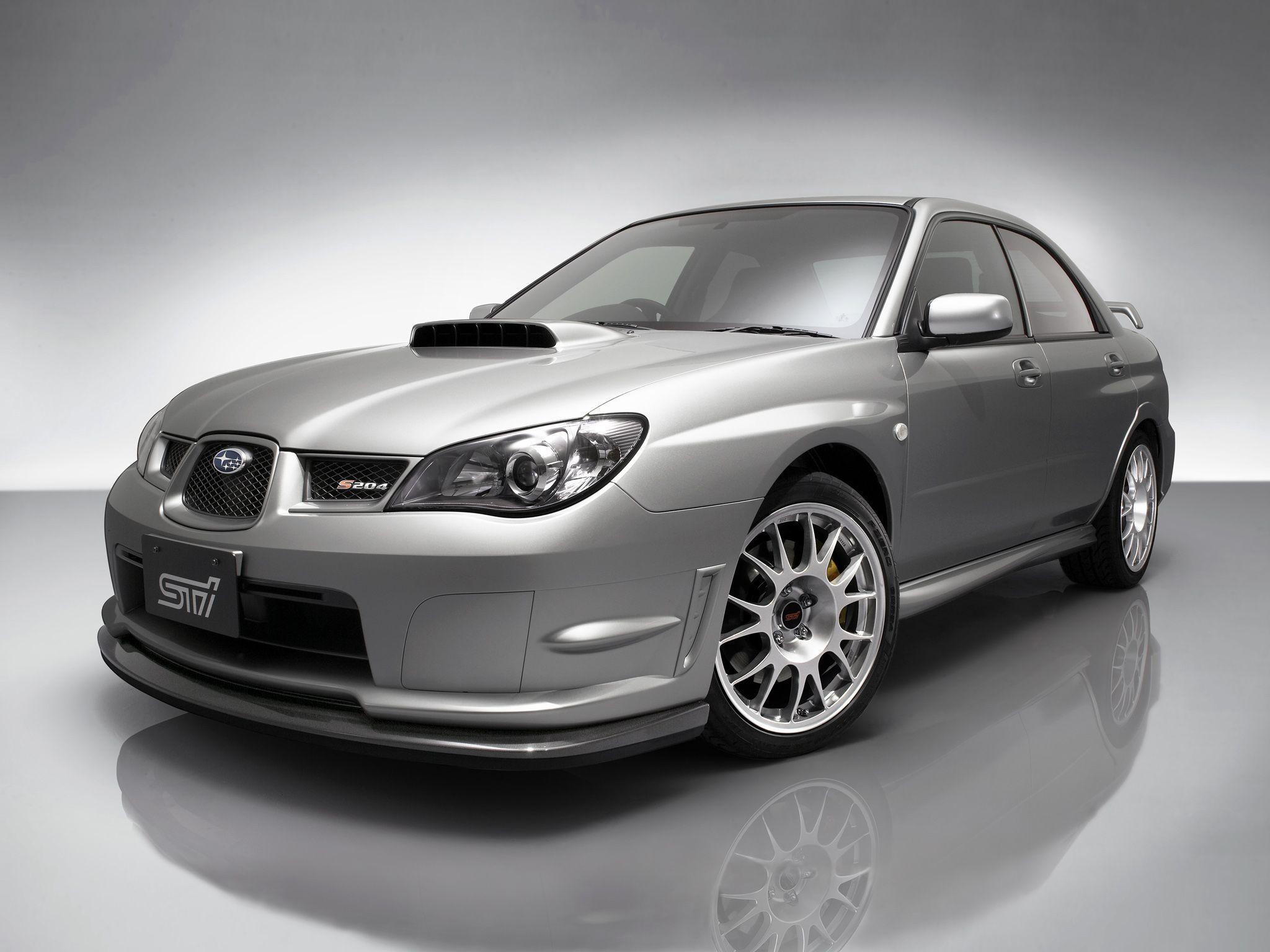 Subaru Impreza Wrx Sti Spec C Wr Limited Gdb 2004 Subaru