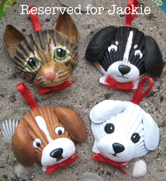 dog craft ideas reserved listing by lorishellart on etsy shell craft 1880