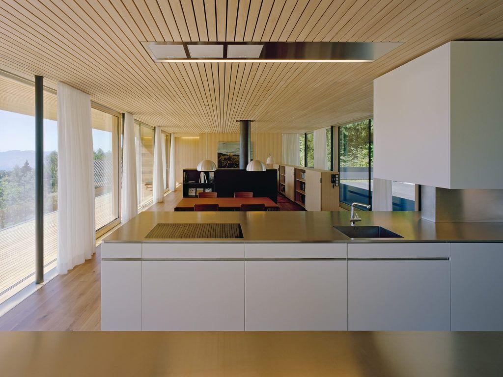 Haus A Dornbirn At Dietrich Untertrifaller Architekten Schone Moderne Hauser Haus Und Architektur