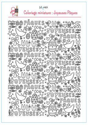 Coloriage Joyeuses Paques Maternelle.Coloriage Paques Mandalas Con Fraces Coloriage Paques