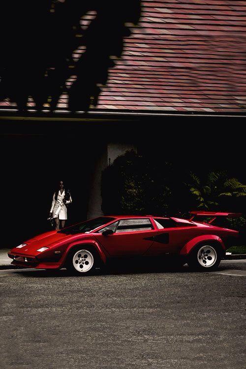 Lamborghini Countach Cars Wallpaper For Phone