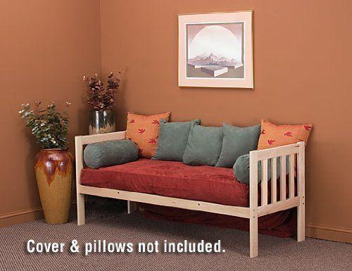 Mission Day Bed With Cot Size Futon Mattress World Of Futons Http Www Com Dp B001kpt3rk Ref Cm Sw R Pi Qnxjsb15k5e6321t