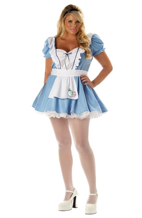 Sexy Alice Plus Size Costume for Halloween - Pure Costumes