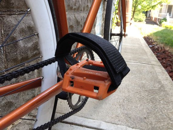 Adjustable Bike Pedal Straps With Images Pedal Straps Bike
