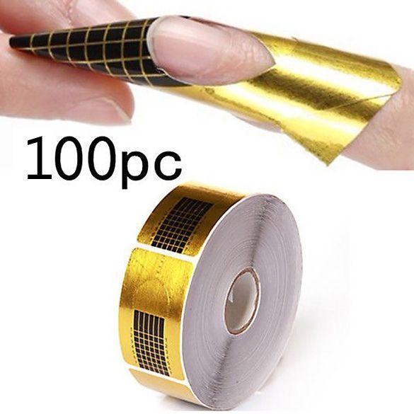 Aliexpress.com: Comprar 100 unids/paquetes de Extensión de Uñas de ...