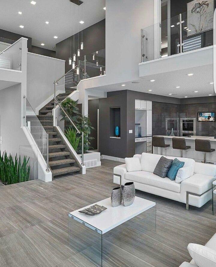 Casa modelo Casas modernas interiores, Casas, Diseño