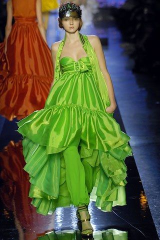 Jean Paul Gaultier Spring 2007 Ready-to-Wear Fashion Show - Lily Cole