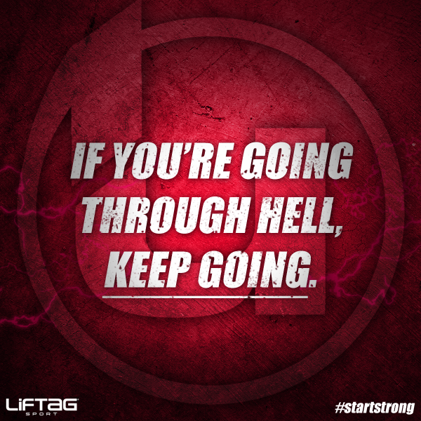 Turn up the heat. #startstrong