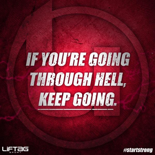 Turn up the heat. #startstrong