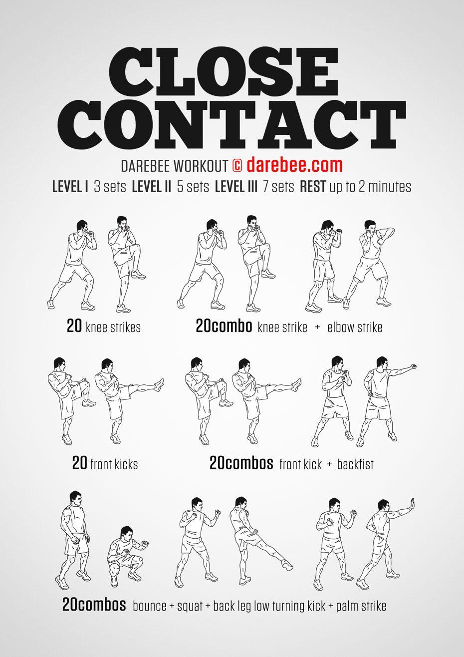Close Contact Workout Naruto Workout Martial Arts Workout Mma Workout