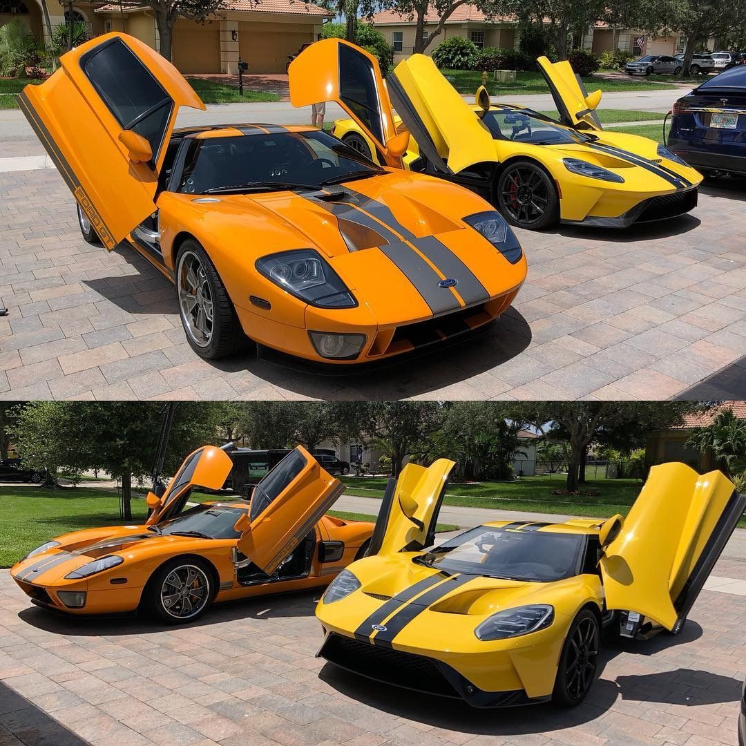 2005 Ford Gt With Modded Doors 2018 Ford Gt Ford Gt Old Fords