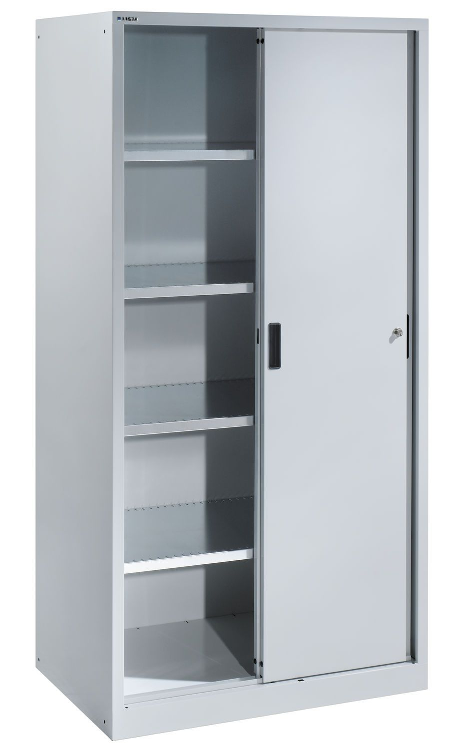 Awe Inspiring Storage Cabinets With Doors Also Adjustable Metal