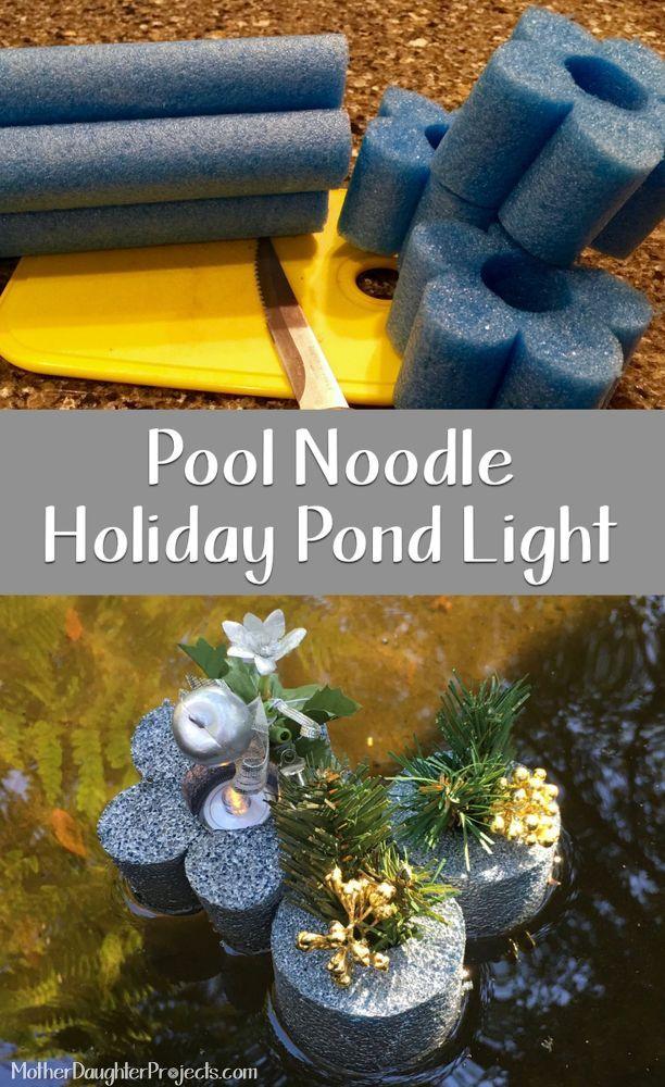 7 Ways To Diy A Pool Noodle Pool Noodle Crafts Pool Noodles Pool Lights