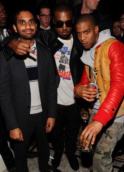 Kanye west aziz ansari