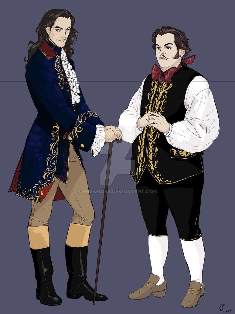 Gaston And Lefou By Ruzamors Deviantart Com On Deviantart With