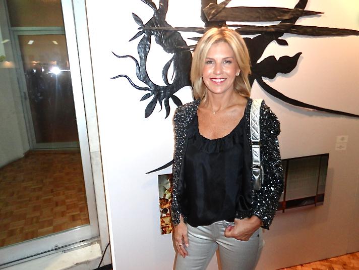 Lulú Creel, directora de Sotherby´s México, en la subasta de la Fundación México Vivo