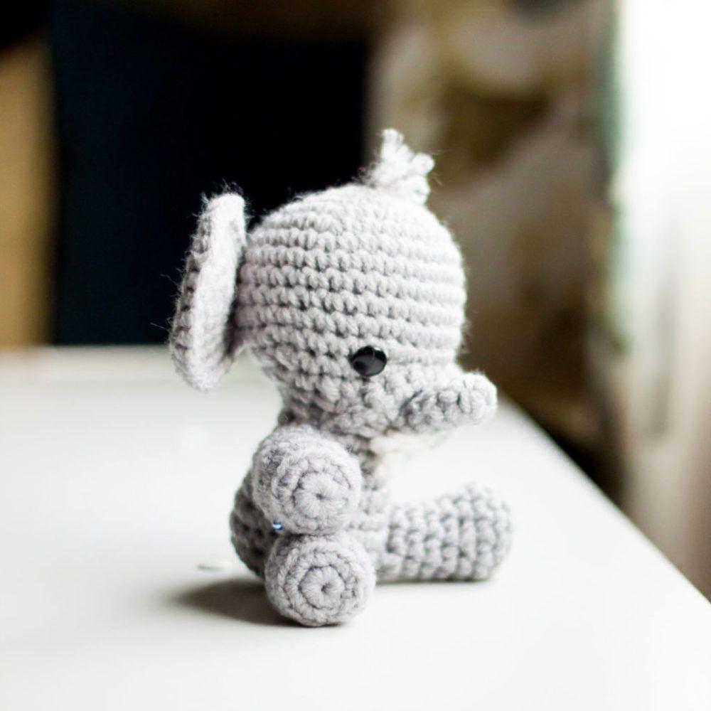 Baby Elephant Crochet Pattern   Things 4 Michelle   Pinterest