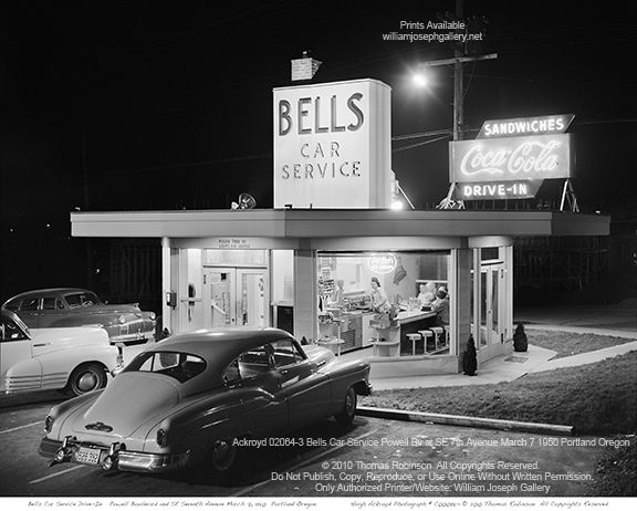 Bells Car Service Powell Bv At SE 7th Avenue March 7 1950