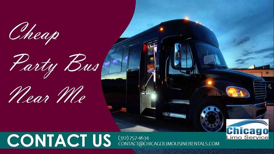 Limousine Rentals has shared a news post Cheap Party Bus