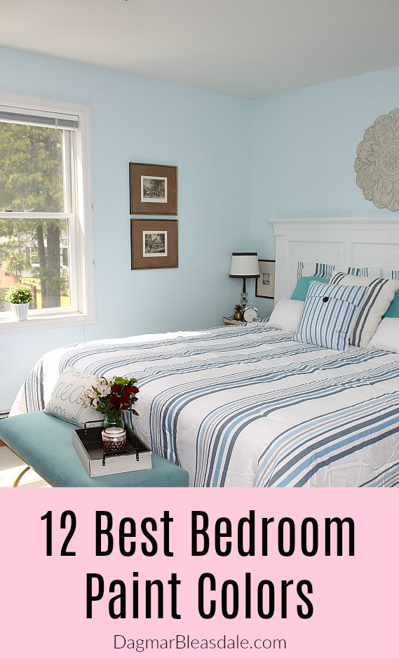 The 12 Most Stunning and Surprising Bedroom Paint Color ...