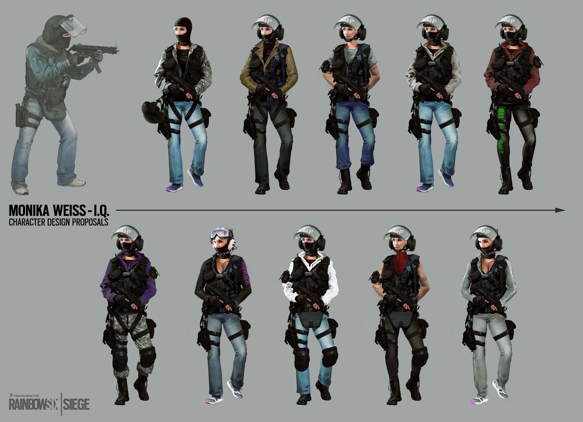 Shield Skins Confirmed : Rainbow6
