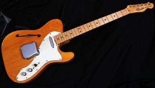 VARIAX T-MODEL Position 3: Bridge+Neck,  Position 5: Neck (1968 Fender® Telecaster® Thinline)