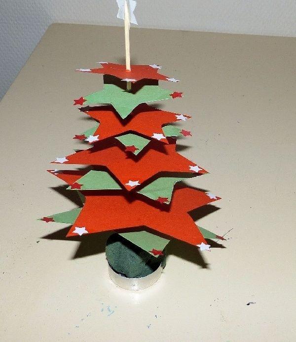 kerstboompjes voor op tafel tafeldecoratie kerst
