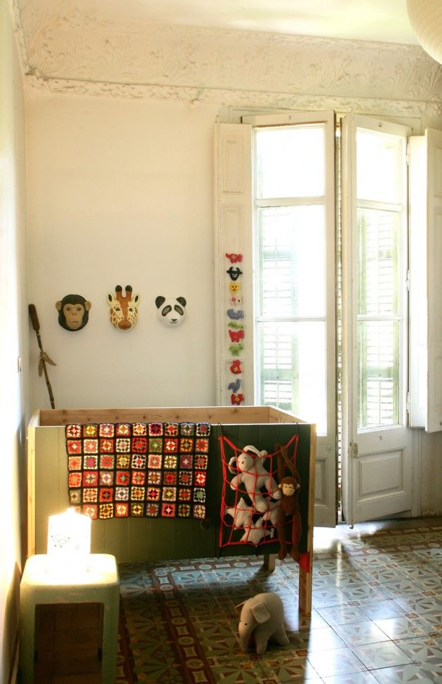 pepe crib in theo's nursery 1