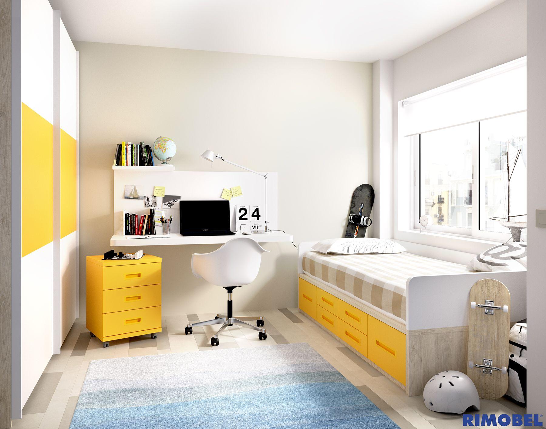 Habitaciones juveniles dise adas para la vida real http for Habitaciones juveniles pinterest