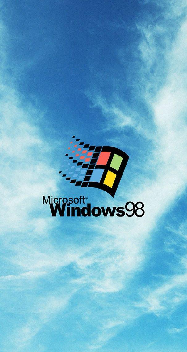 Windows 98 Wallpaper Geeky Nerdy Retro