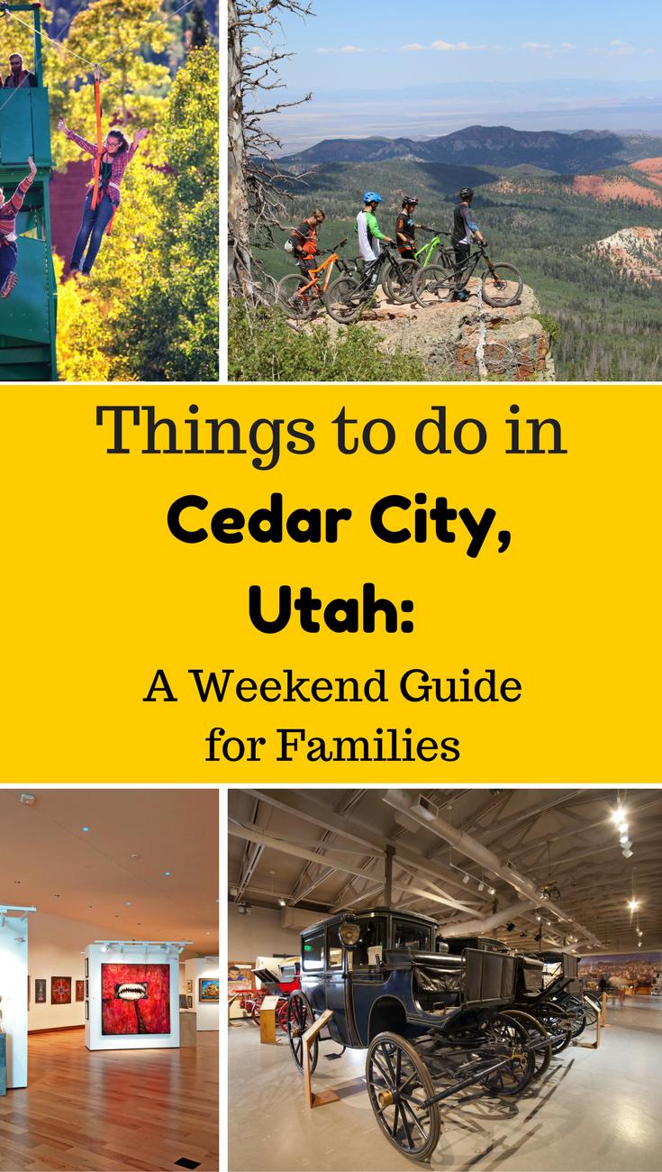 Best Things To Do In Cedar City Utah For Families 3 Day Weekend Itinerary Cedar City Utah Cedar City Utah Vacation