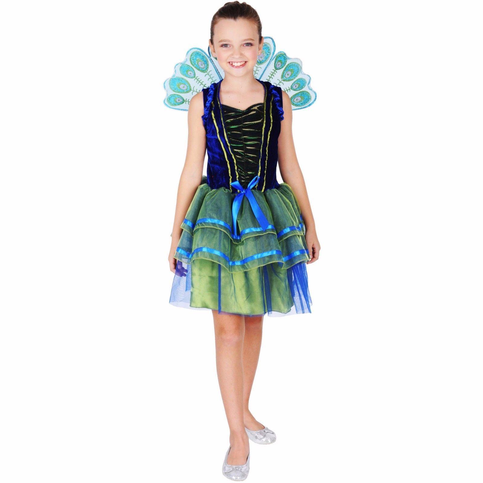pretty peacock costume halloween dress up child girl kids | common