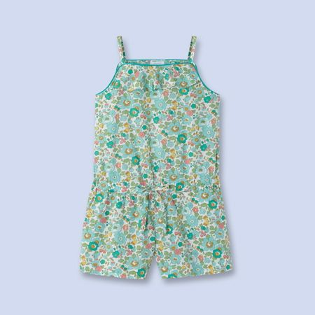 Combishort en tissu Liberty pour enfant, fille | Robes | Pinterest ...