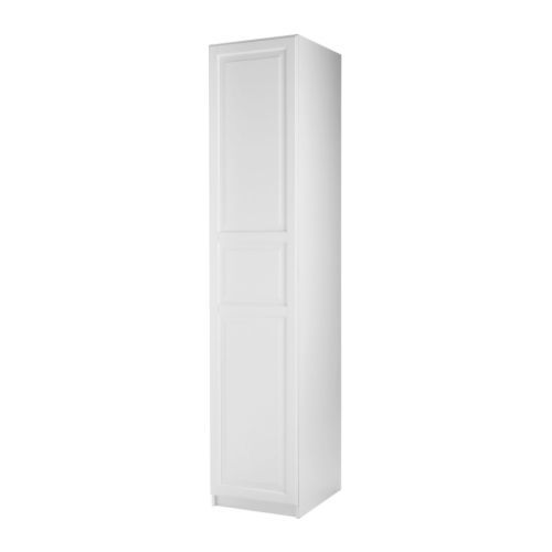 PAX Kleiderschrank mit Tür - Birkeland weiß, weiß, 50x38x236 cm, Scharnier - IKEA 150 eur, osnova 80 eur
